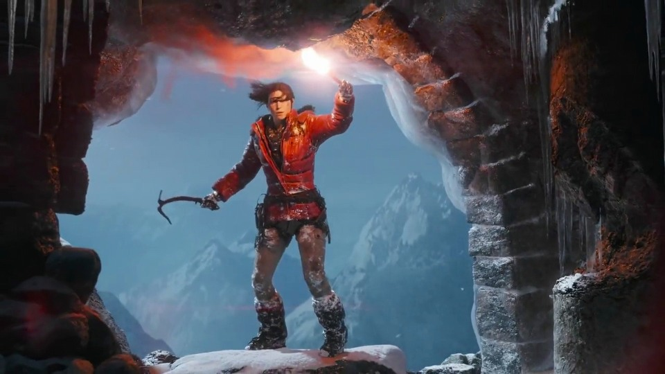 Rise of the Tomb Raider E3 2015 - trailer #1