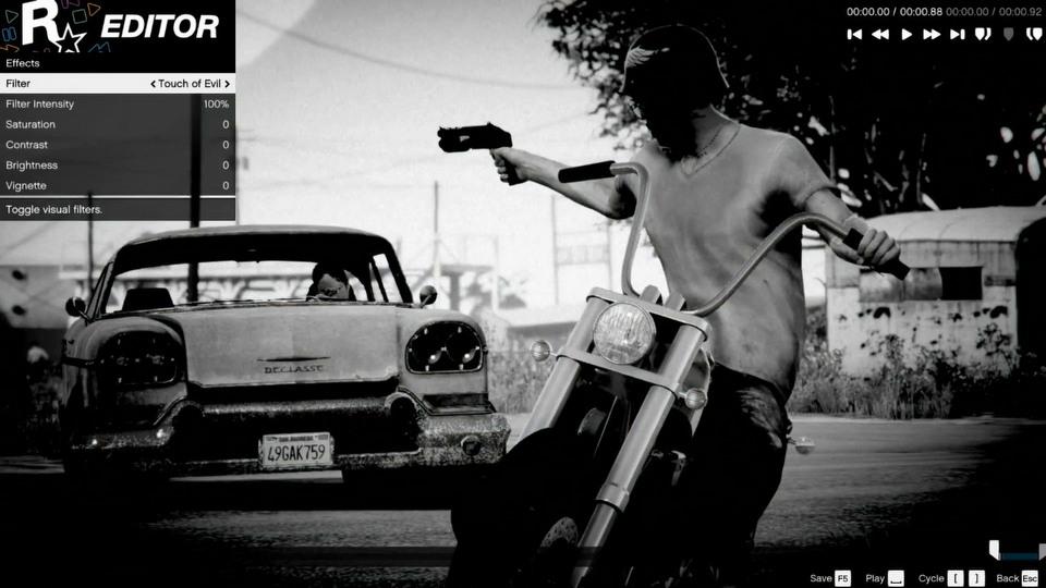 Grand Theft Auto V Rockstar Editor