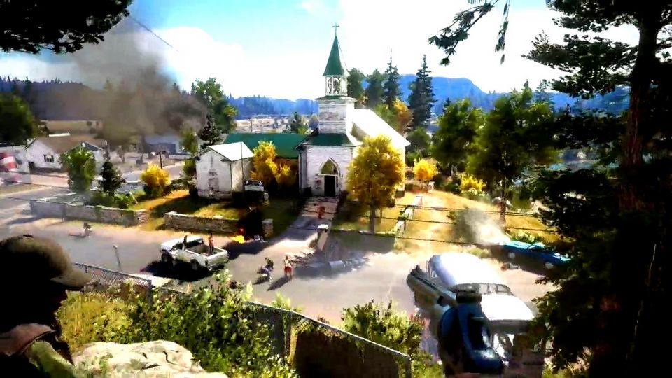 Far Cry 5 E3 2017 gameplay