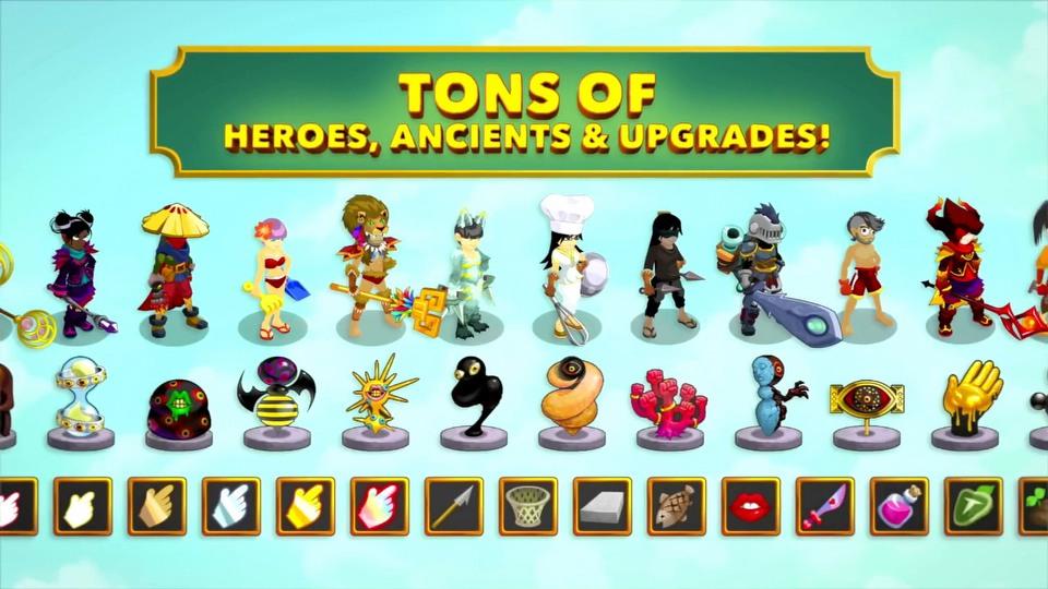 Clicker Heroes trailer