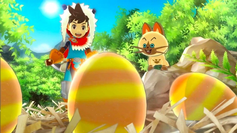 Monster Hunter Stories trailer