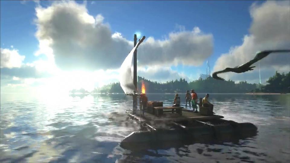 ARK: Survival Evolved PS4 version launch trailer