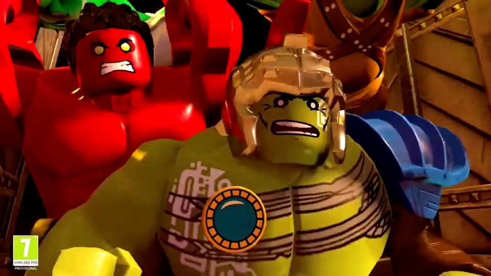 LEGO Marvel Super Heroes 2 gamescom 2017 trailer