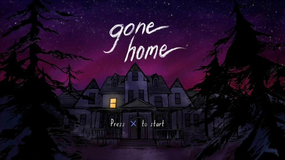Gone Home console version trailer