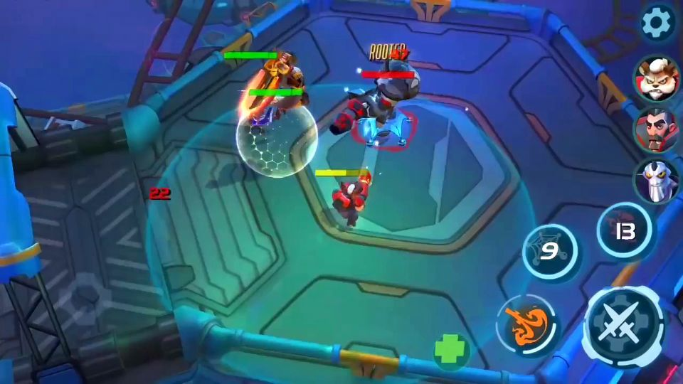 Planet of Heroes gameplay previev