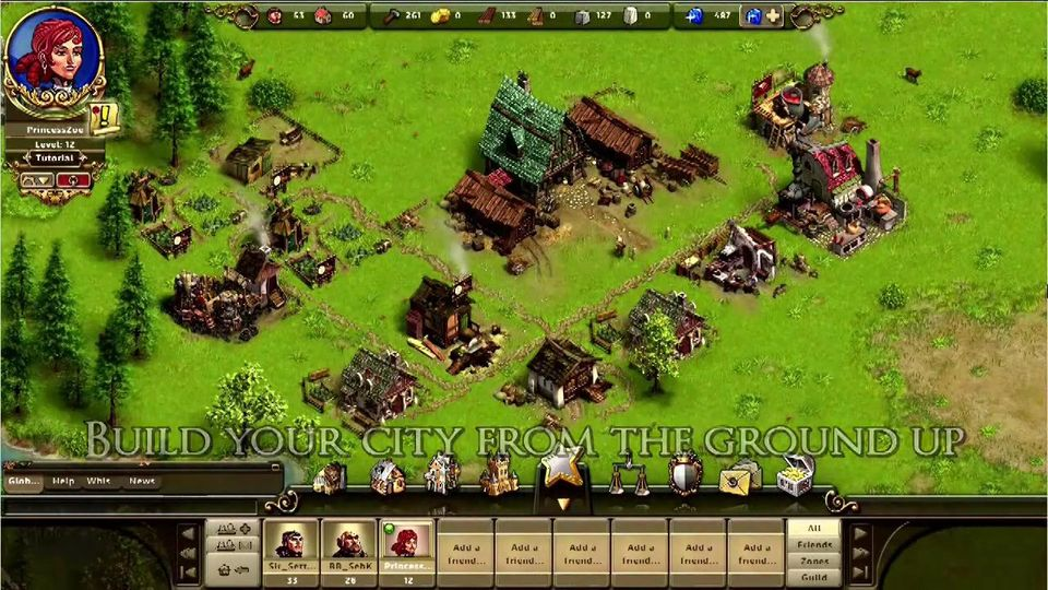 The Settlers Online English Closed Beta