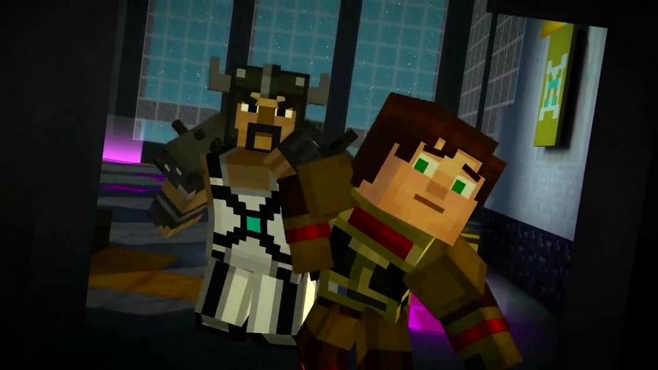 Minecraft: Story Mode - A Telltale Games Series - Season 1 episode #8 - A Journey's End