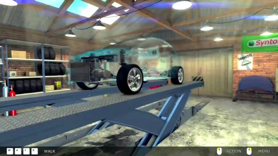 Car Mechanic Simulator 2014 trailer