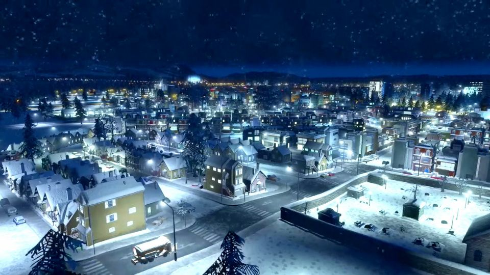 Cities: Skylines - Snowfall launch trailer