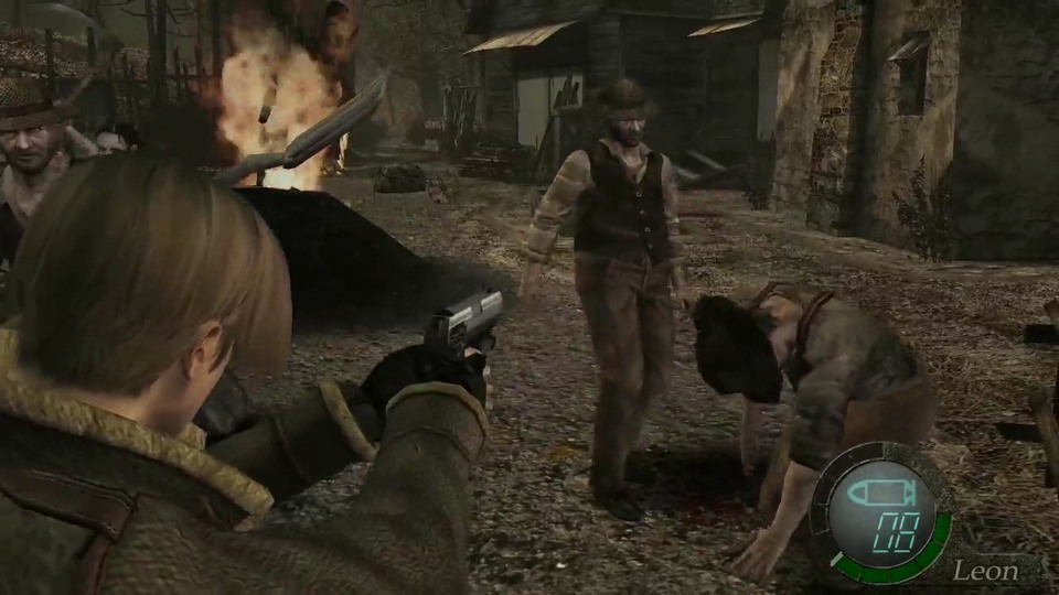 Resident Evil 4 HD gameplay #2