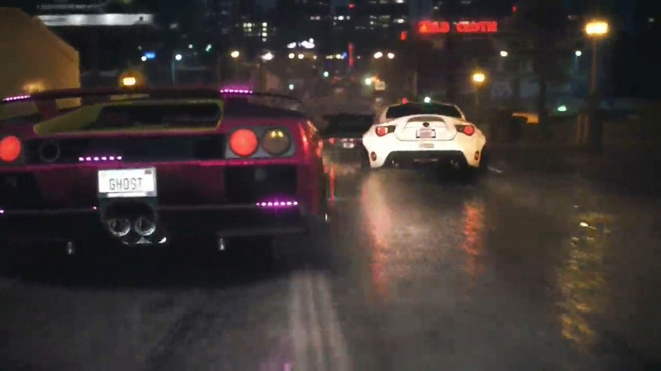 Need for Speed PC version launch trailer