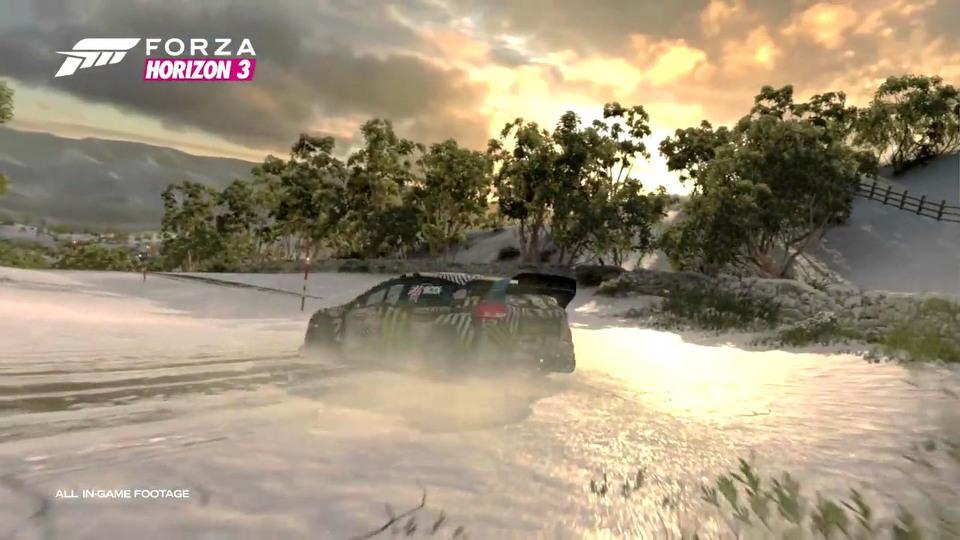 Forza Horizon 3: The Blizzard Mountain trailer