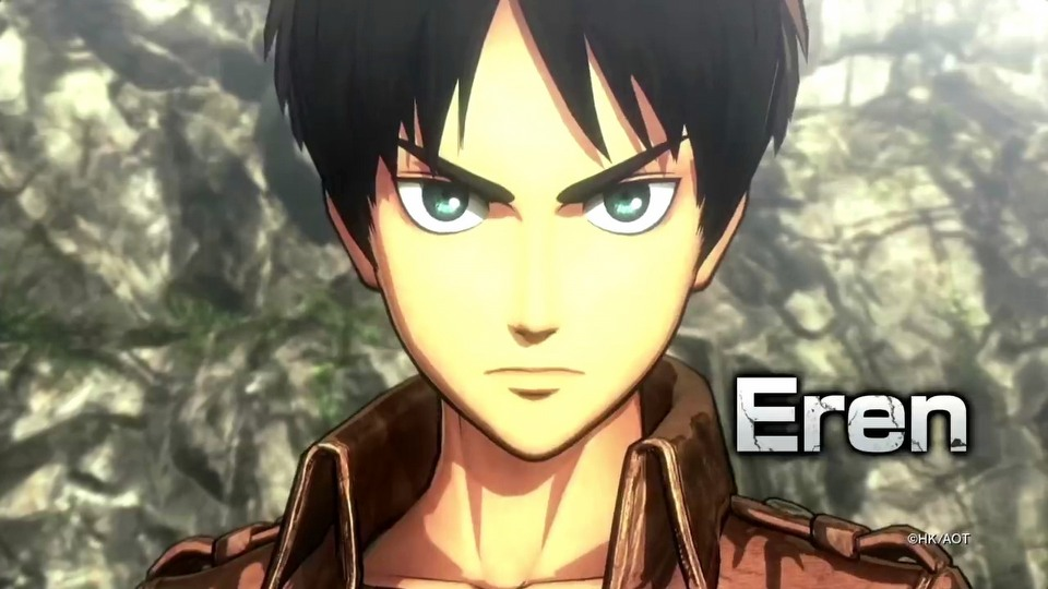 Attack on Titan: Wings of Freedom E3 2016 - trailer