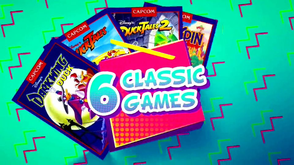 The Disney Afternoon Collection launch trailer