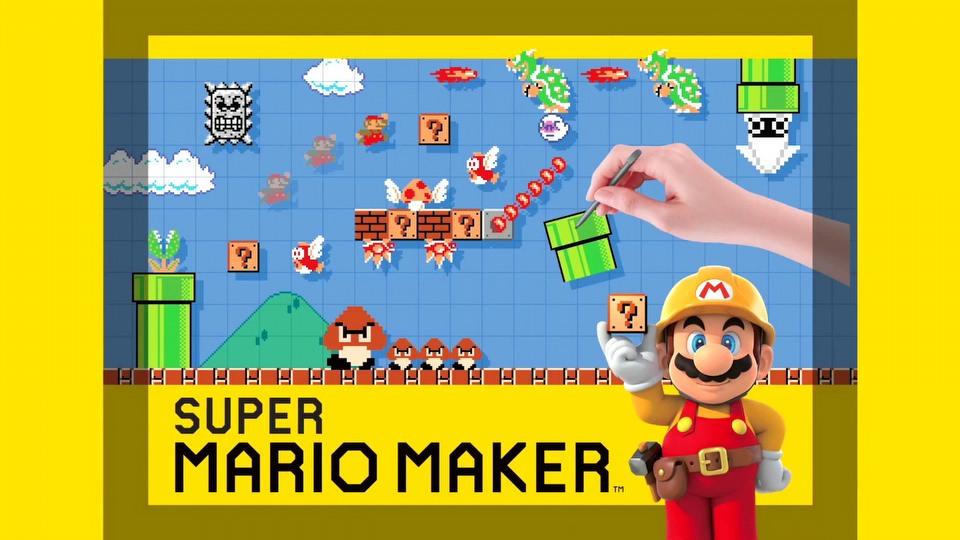 Super Mario Maker E3 2015 - trailer