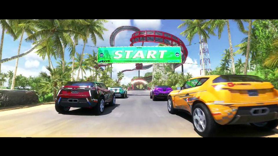TrackMania 2: Lagoon launch trailer