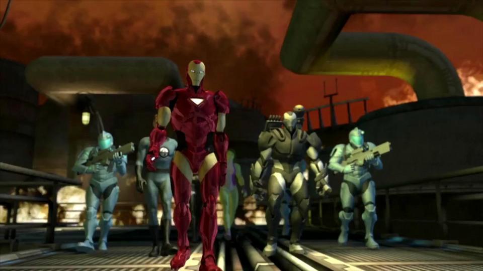 Marvel: Ultimate Alliance 2 enchanced version trailer