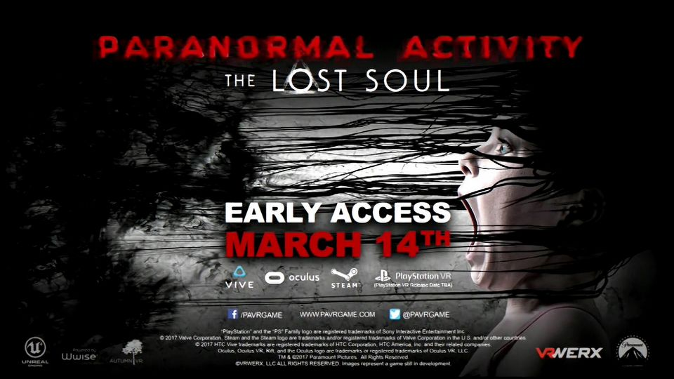 Paranormal Activity: The Lost Soul teaser trailer #1