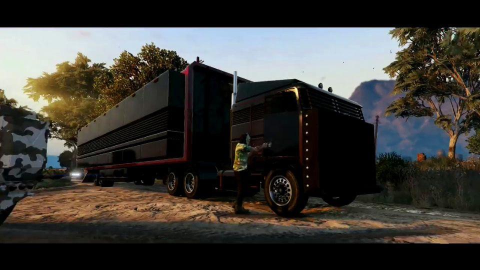 Grand Theft Auto Online Gunrunning
