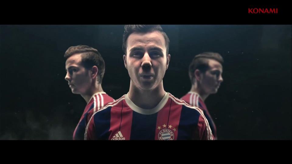 Pro Evolution Soccer 2015 launch trailer