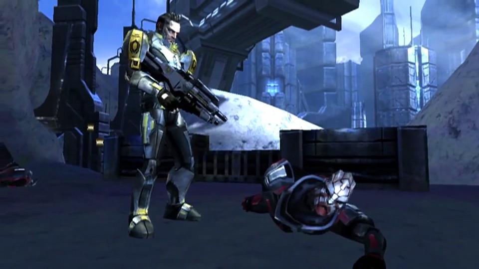 Mass Effect Infiltrator trailer