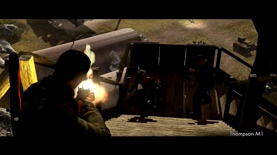 Sniper Elite V2 for Wii U launch trailer