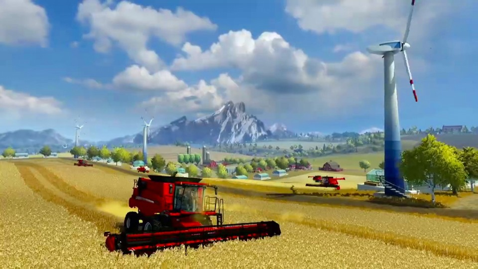 Farming Simulator 2013 console version launch trailer