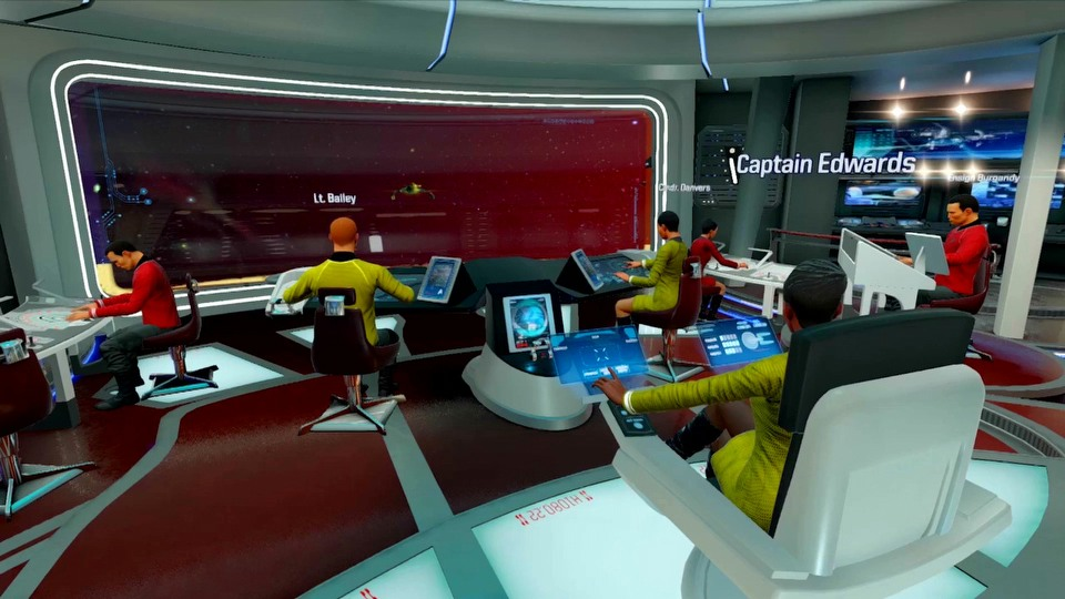 Star Trek: Bridge Crew Become a Starfleet officer