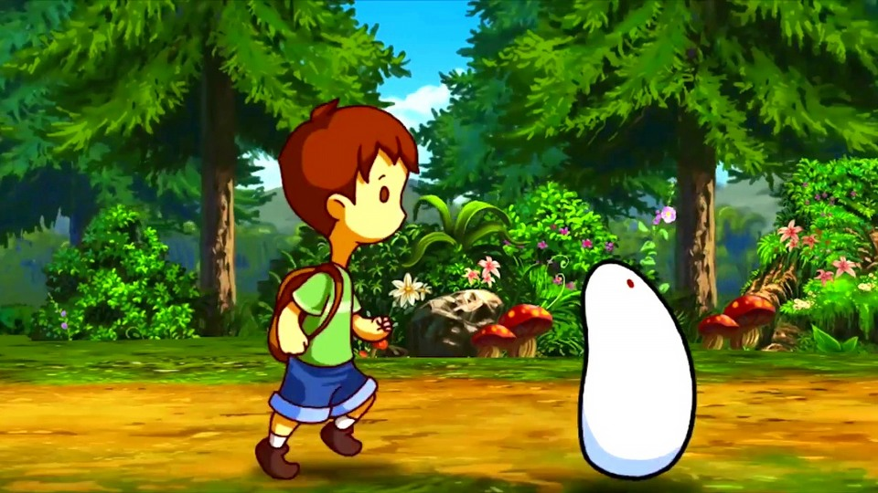 A Boy and His Blob trailer