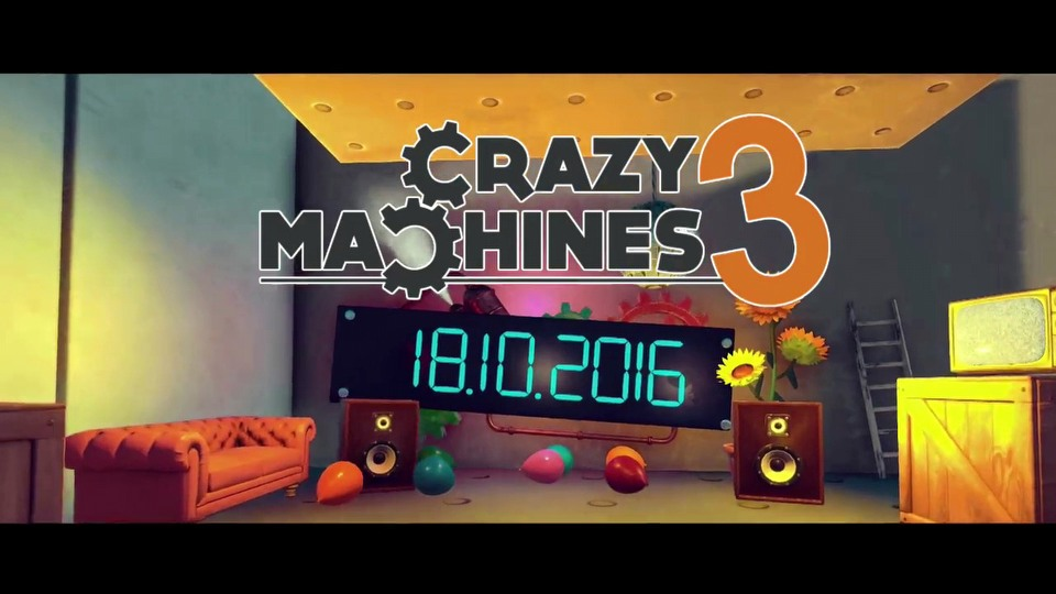 Crazy Machines 3 gamescom 2016 - trailer