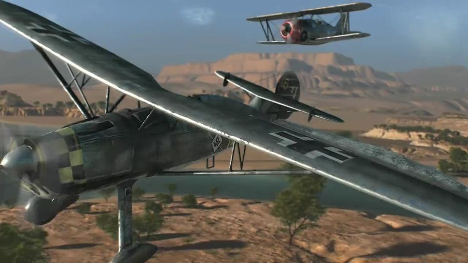 World of Warplanes Cinematic trailer