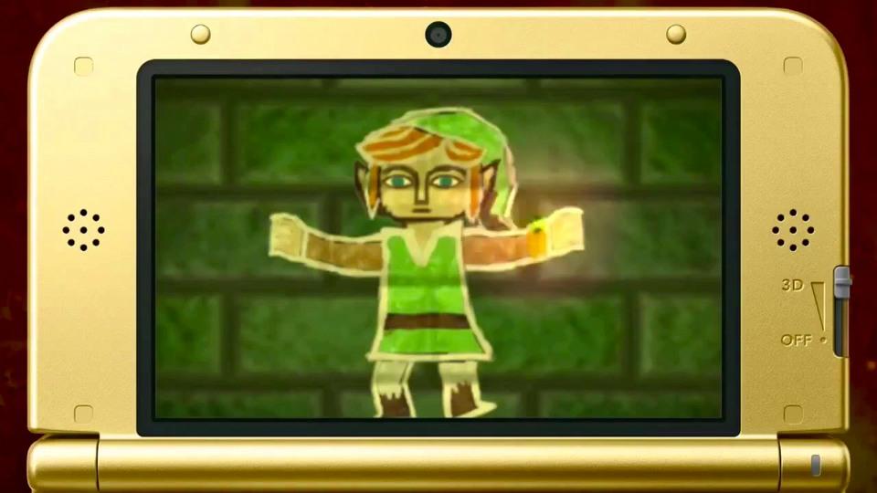 The Legend of Zelda: A Link Between Worlds launch trailer