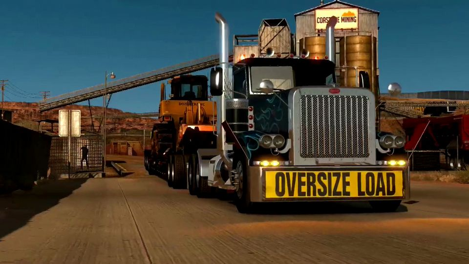 American Truck Simulator Heavy Cargo Pack DLC
