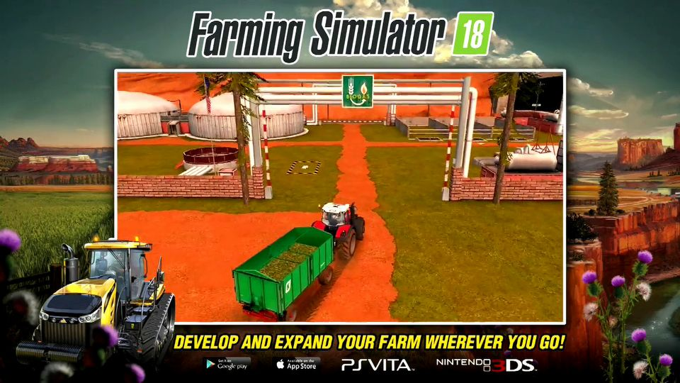 Farming Simulator 18 trailer #1