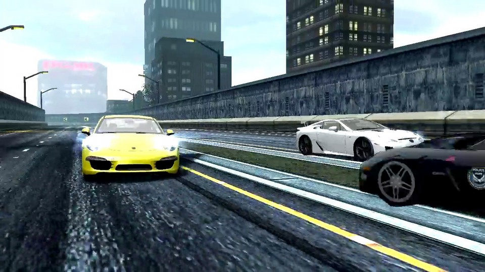 Need for Speed: Most Wanted mobile version trailer