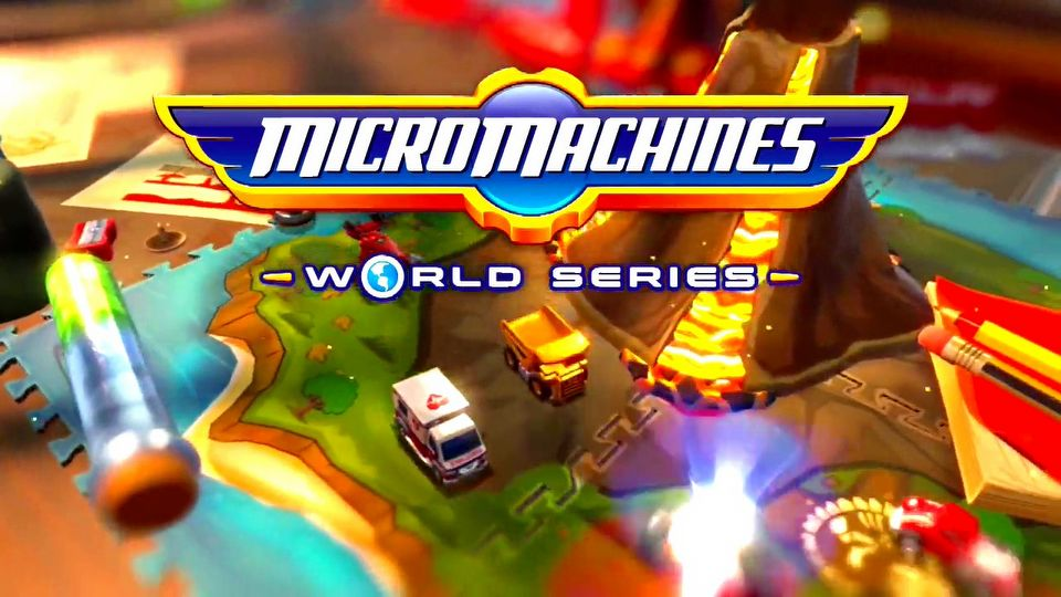 Micro Machines: World Series Battle Mode Mayhem!