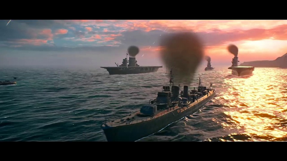 World of Warships closed beta trailer #2