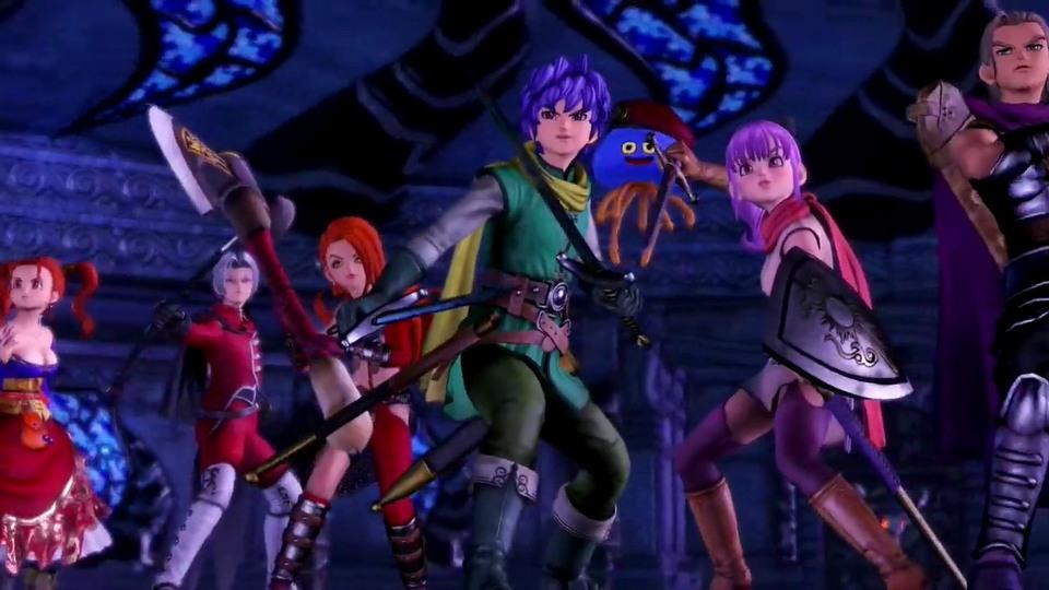 Dragon Quest Heroes I & II trailer #1