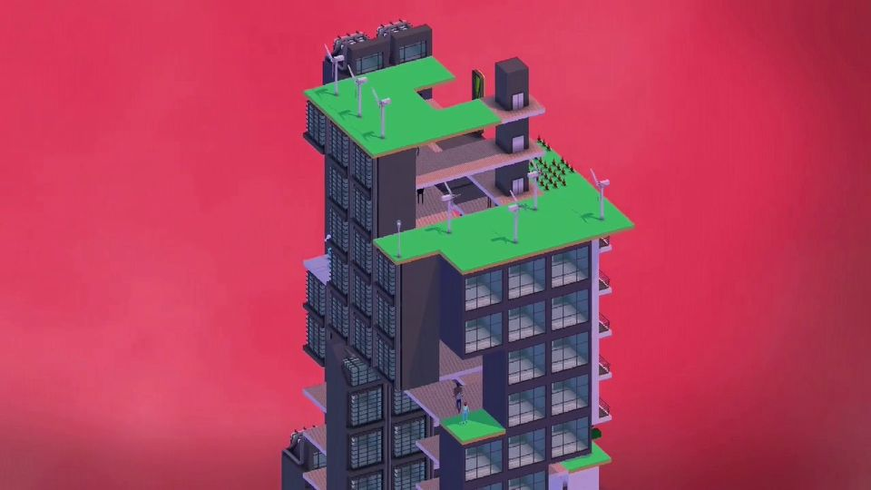 Block'hood launch trailer