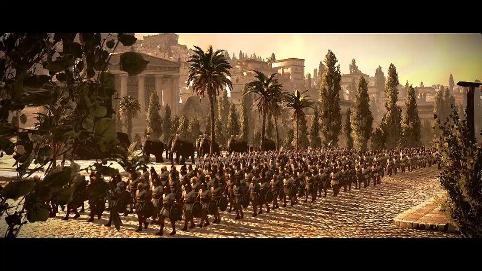 Total War: Rome II Cinematic Trailer