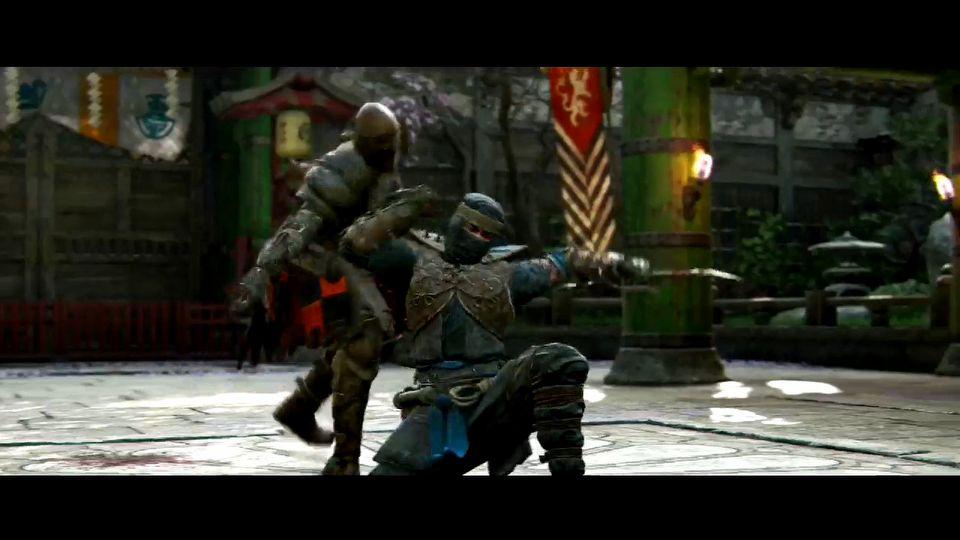 For Honor The Shinobi - Samurai: gameplay hero series