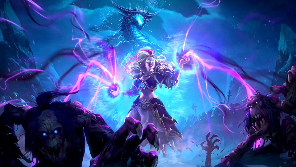 Hearthstone: Knights of the Frozen Throne cinematic