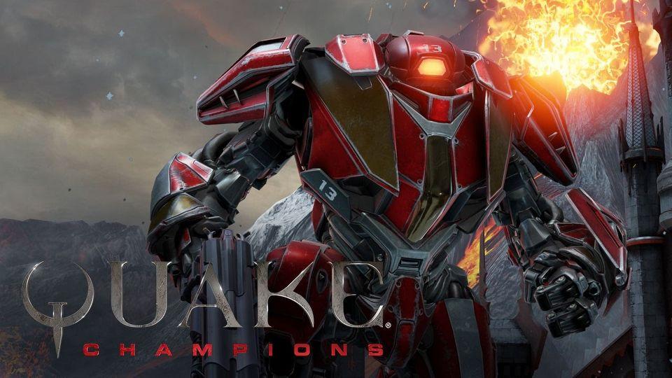 Quake Champions Clutch - champion trailer