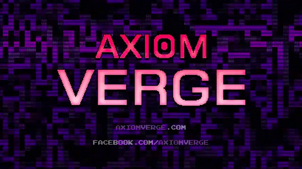 Axiom Verge trailer