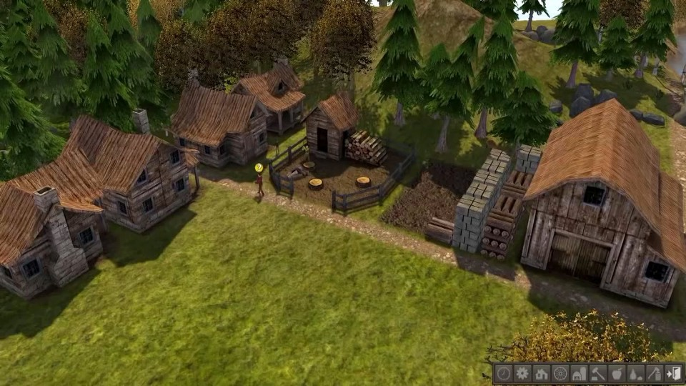 Banished gameplay trailer