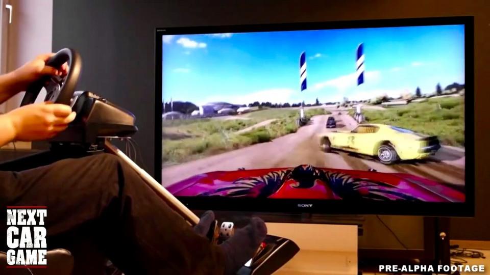 Next Car Game: Wreckfest gameplay