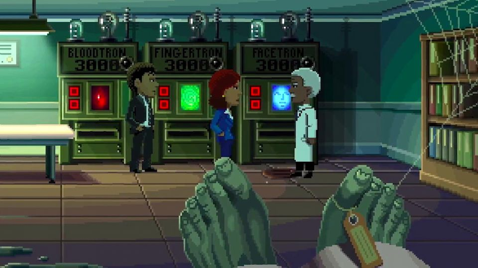 Thimbleweed Park launch trailer