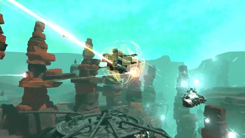 Galactic Junk League open beta trailer