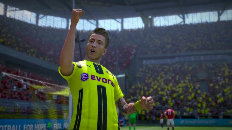 FIFA 17 Marco Reus and active intelligence system