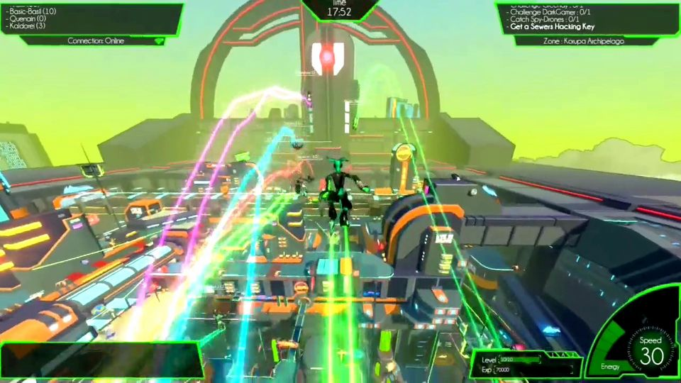 Hover: Revolt of Gamers console version trailer